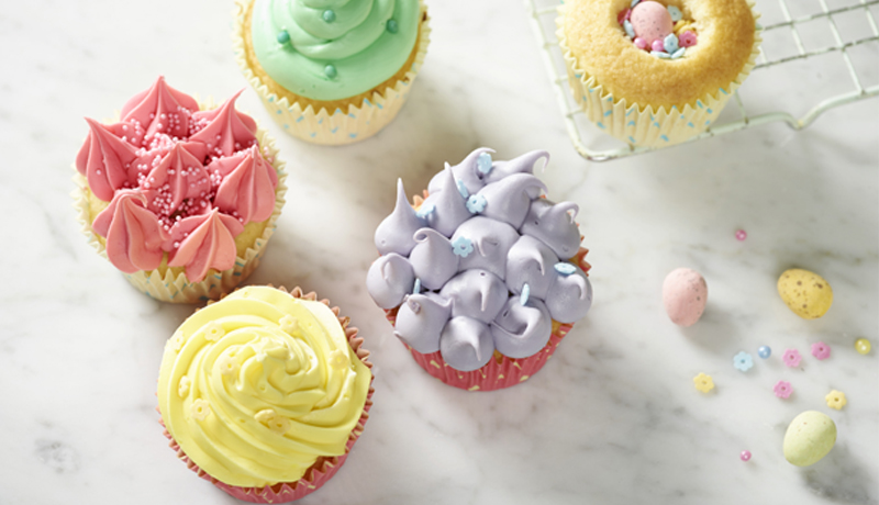 Surprise Easter Cupcakes