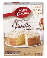 Super Moist Vanilla Cake Mix