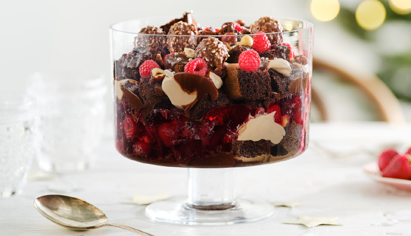 Chocolate and Hazelnut Trifle