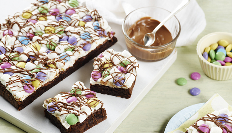 spring-celebration-brownies