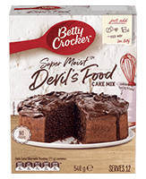 Super Moist Devil's Food Cake Mix