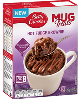 Mug Treats Hot Fudge Brownies