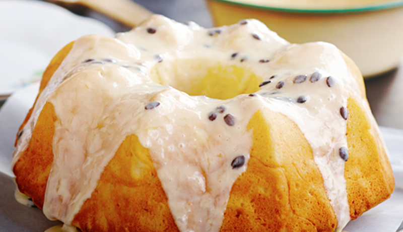 Yoghurt And Passionfruit Cake