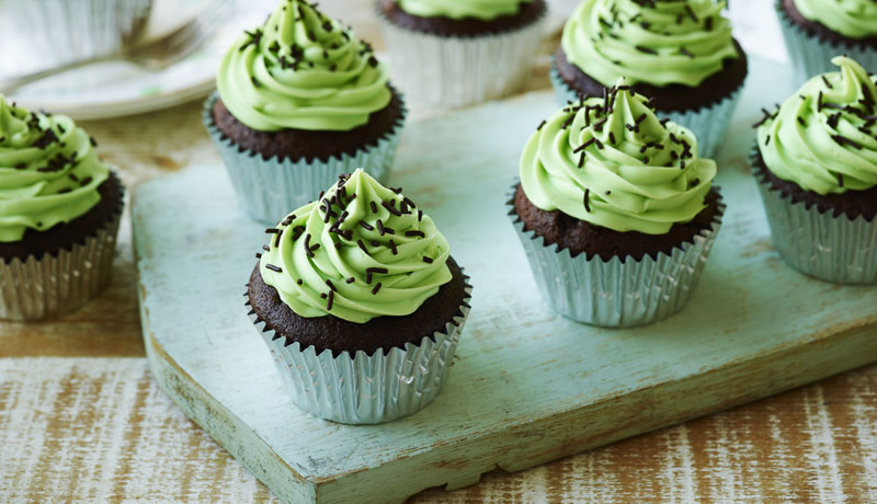 Chocolate Stout St. Patrick's Day Cupcakes