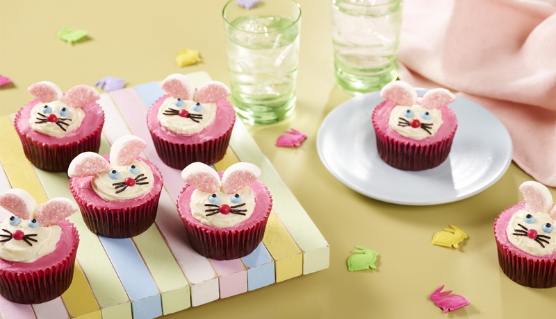 Gluten-Free Bunny Cupcakes