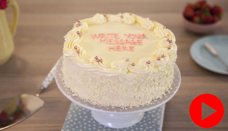 Vanilla Birthday Cake Recipe | Easy Cakes | Betty Crocker